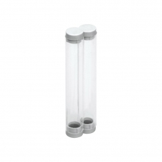 Plastik İkili Kalem Kutusu