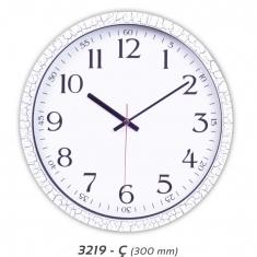 Çatlak Desenli Plastik Duvar Saati (300 mm)