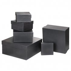 Özel Kağıt Kaplamalı Hediye Kutusu ( 21 x 21 x 12 cm )