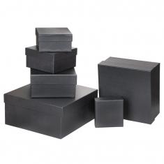Özel Kağıt Kaplamalı Hediye Kutusu ( 25 x 25 x 12 cm )