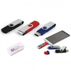 16 GB Döner Kapaklı USB Bellek (OTG Özellikli)