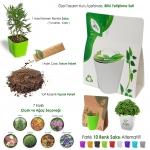Çantalı Tohumlu Bitki Yetiştirme Seti